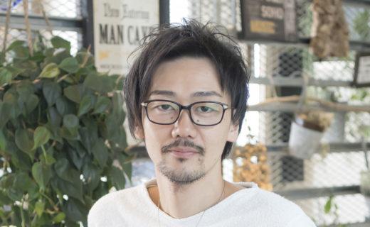 山崎勇健 ヤマサキ ユウケン | 新宿のヘアサロン美容室ヘアーミューズリベロ「hair muse Livero」スタイリスト